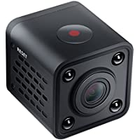 Mini Wi-Fi IP Camera with Infrared Night Vision- Black With 32GB Memory