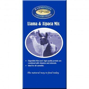 Badminton Llama & Alpaca Mix - 20 kg