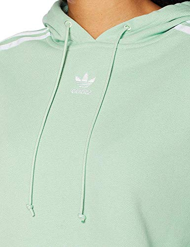 Femme Cropped Vert shirt Sweat Green Blush Capuche Sport Hoodie blush Adidas À Green RAqwp04A
