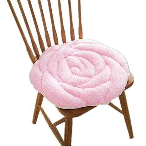 Onetek - Cojín de Asiento Suave, cómodo, Color Rosa, para el ...