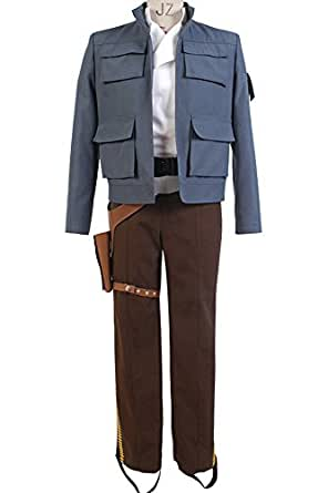CosplaySky Star Wars Empire Strikes Back Han Solo Costume Outfits Small
