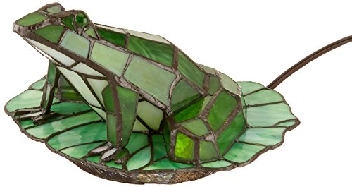 Dale Tiffany TA101231 Tiffany Frog Lily Pad Accent Lamp