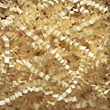 French Vanilla Crinkle Cut Paper Shred 10 lbs/Case