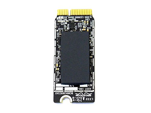 Broadcom Bcm94360cs Bcm94360csax Bcm4360 Bluetooth Bt Wireless Wifi Card Module for Apple Laptop A1398 A1502 653-0029 802.11ac by Broadcom