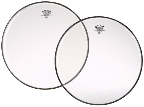 Remo BD0315-00 Clear Diplomat Drum Head - 15-Inch