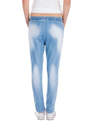 Relaxed Fraternel Chiaro Jogger Donna Azzuro Jeans qtr1gtUH