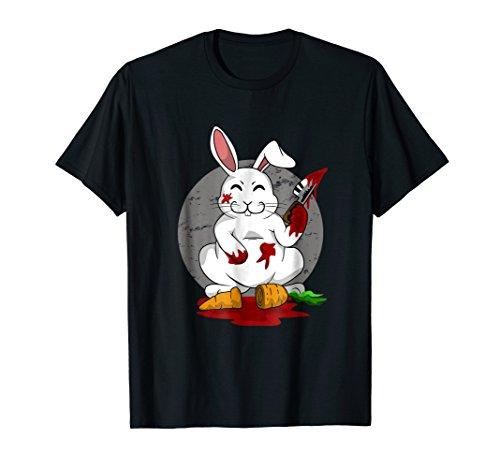 Funny Killer Bunny Rabbit Scary Gift T-Shirt Halloween]()