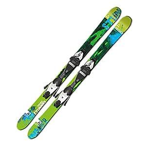 Ski Fischer Stunner JR. 131cm Rail TwinTip 2013/2014 inkl. Bindung FJ7 AC ...