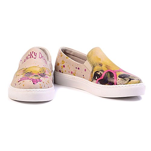 Vn4028 Donna serie Dog Tomaia Sneakers Women Uk Lucky Pelle Slip Scarpe Goby In Vn4000 On 7PSqUWx6Z