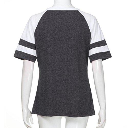 Sanfashion Ballerine Donna Dunkelgrau2 Shirt155 Bekleidung Damen 4wwqR1