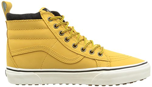 Basses Vans Marron Sk8 Adulte Honey Mixte hi Mte Leather rwgEqAw