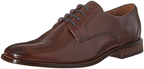 Hommes Bostonian Narrent Ambiance Oxford Marron