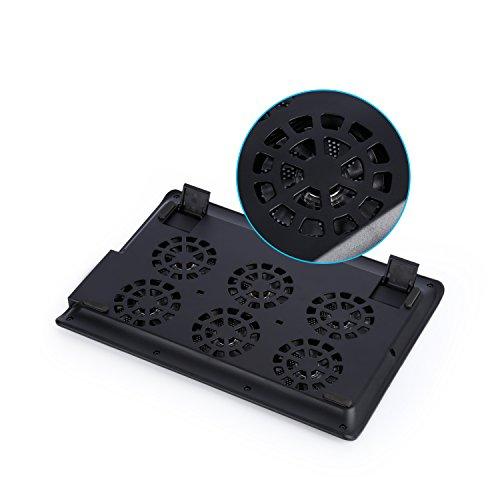 Laptop Cooling Pad,LESHP USB Laptop Fan (6 fans) by LESHP (Image #6)