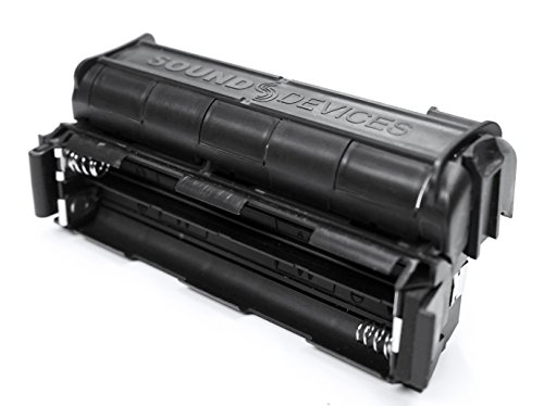 Sound Devices MX-8AA Battery Sled Accessory for the MixPre-3 & MixPre-6 Audio Recorders by Sound Devices