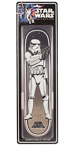 ac37eaaa92 Image Unavailable. Image not available for. Color  Star Wars Skateboard  Deck STORMTROOPER ...