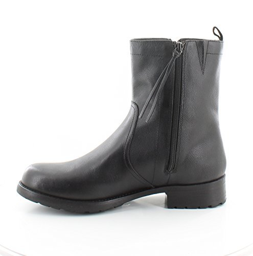 DKNY Women's Naoishe Faux Fur Lined Booties, Black, 6 B(M) - Dkny Boots Ladies