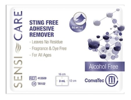 Convatec Sensi-Care Adhesive Remover - 413500PK - 30 Each / Pack (Sensi Care Adhesive Remover)