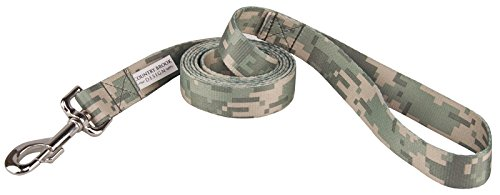 Country Brook Design 1 Inch Digital Camo Leash – 4 Feet