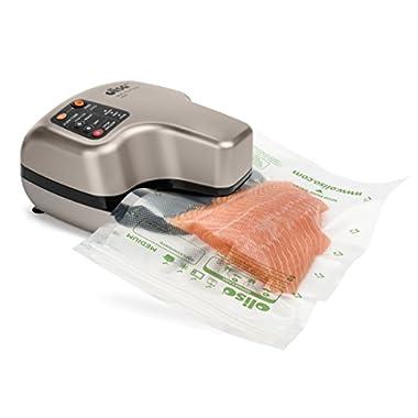 Oliso PRO Smart Vacuum Sealer : Sous Vide : Food Storage : Food Saver : Food Preservation : Vacuum Seal Dry Foods and Liquids