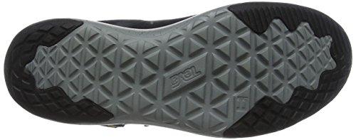 Teva Arrowood Lux WP WS, Zapatillas de Senderismo Para Mujer Negro (Black/ Grey)