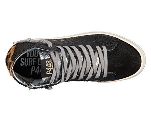 A7 Bottes Skate P448 Femme Blk Python pour pqvOwzO