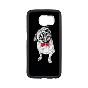 Samsung Galaxy S6 Cell Phone Case White Percy Pug Vkaoa
