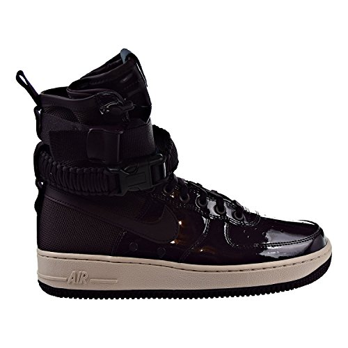 Nike SF Air Force 1 SE Premium Womens Shoes Port Wine/Space Blue aj0963-600 (11.5 B(M) - Outlets Francisco Premium San