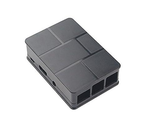 Raspberry Pi 3 Model B 512 Black ABS Case Cover Shell Enclosure Box Screwdriver