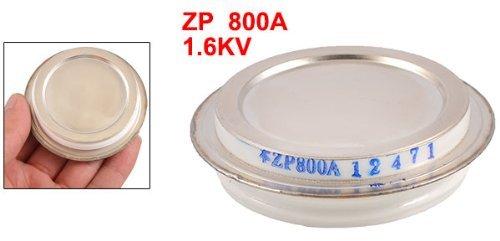 eDealMax 1.6kV 800A ZP tono de Plata Redonda caso Tipo de Disco rectificador de silicio