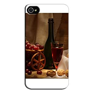 New Style Durable For Iphone 4s Protective Case White T8IuVw