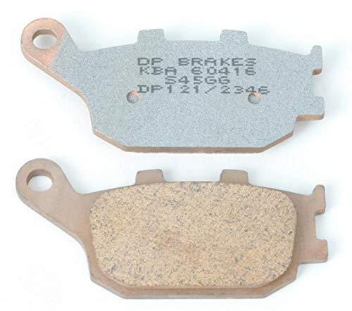 DP Brakes Standard Brake Pads DP121 Rear for Honda Kawasaki Suzuki TRI Yamaha ()
