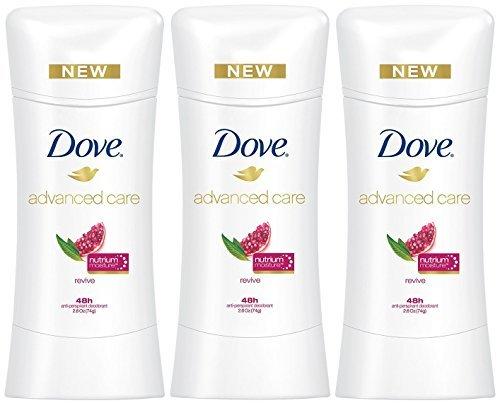 Dove Advanced Care Anti-Perspirant Deodorant, Revive 2.6 Oz(Pack of 3)