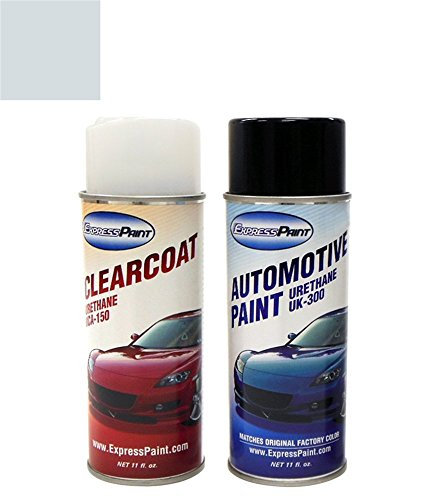 ExpressPaint Aerosol Ford Edge Automotive Touch-up Paint - Light Ice Blue Effect Clearcoat LS - Basic Package