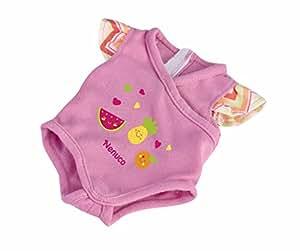 Nenuco - Body Con Dibujo de Frutitas, color rosa (Famosa 700013433)