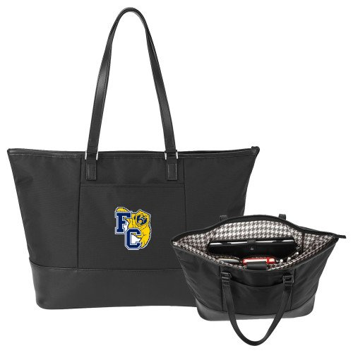 Franklin Stella Black Computer Tote 'Primary Athletics Mark' by CollegeFanGear