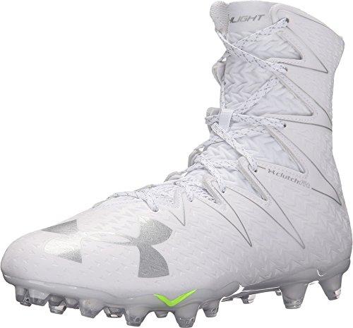 Under Armour Men's Highlight MC Football Cleat White/Metallic Silver Size 12 M US