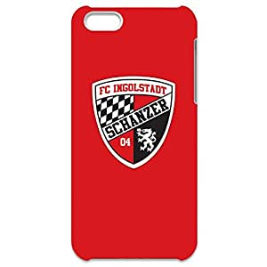 3D FC Ingolstadt Collection Football Club Logo Pattern Hard Black Plastic Anti-Slip Phone Cover For Iphone 5C