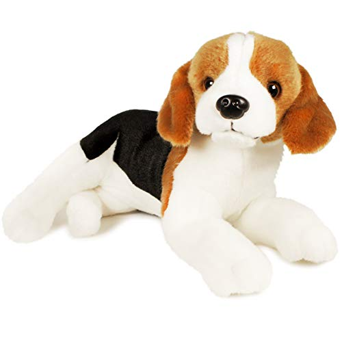 VIAHART Burkham The Beagle | 12 Inch Stuffed Animal Plush | by Tiger Tale Toys