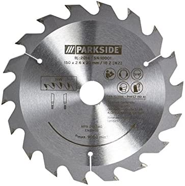 PARKSIDE® Lame de scie circulaire 150 x 1,6 x 20 mm 18 dents
