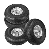 WINWEND 10 Inch Solid Rubber Wheels Tires for