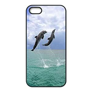LTTcase Custom Dolphin Durable Case for iphone 5,5s