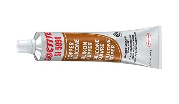 Silicona cobre Loctite SI 5990 – Tubo 100 ml: Amazon.es: Coche y moto