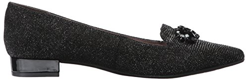 sale top quality wiki cheap online Anne Klein Women's Kamy Leather Loafer Flat Black/Silver Reptile discount buy cheap sale get to buy clearance with credit card hKlGR