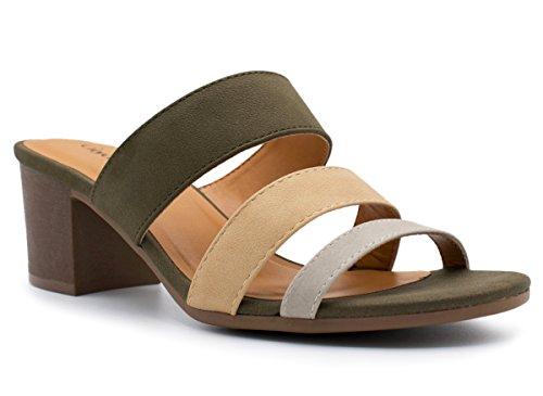 slide heel sandal - 7