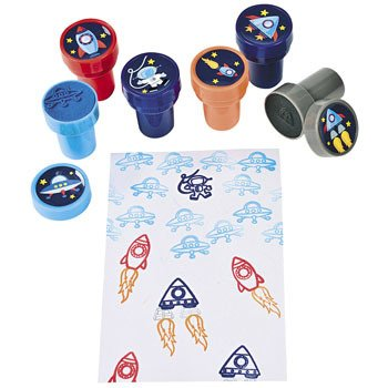 Make Spaceship Stampers Teacher Resources