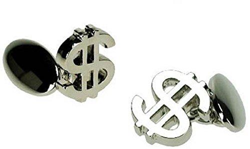 Dollar Sign $ Cufflinks