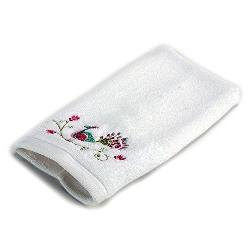Dena Peacock Jacquard Fingertip Towel