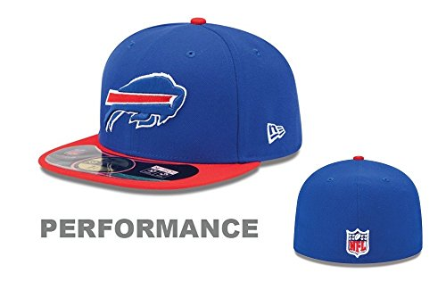 NFL Buffalo Bills On Field 5950 Game Cap, Royal Blue, 6 7/8 Cap New Era 5950 Game