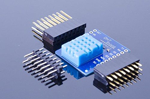 Price comparison product image ACROBOTIC WeMos ESP8266 D1 Mini DHT-11 Temperature / Humidity Sensor Shield for Arduino NodeMCU Raspberry Pi Wi-Fi IoT DHT-22 DHT11 DHT22