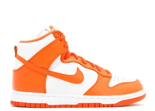 Womens QS Dunk 854340 Shoes Top NIKE White Hi Sneakers Trainers Retro Orange Blaze d1Zwq